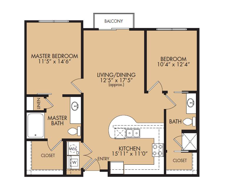 Floor Plan 9 | The Standard at Leander Station