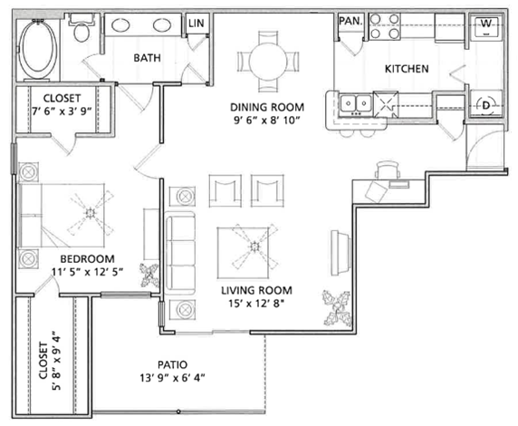 Floor Plan | Vail Quarters 2