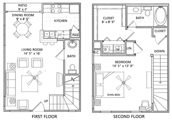 Floor Plan 4 | Vail Quarters 4