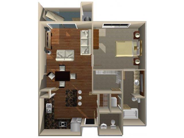 Floor Plan 5 | Dominion Post Oak