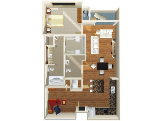 Floor Plan 7 | Dominion Post Oak
