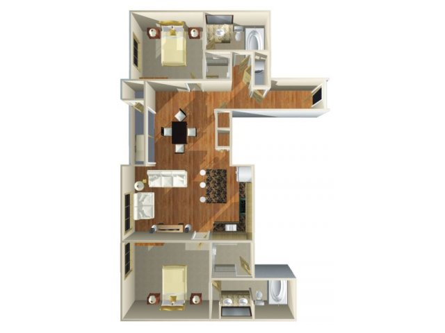 Floor Plan 9 | Dominion Post Oak