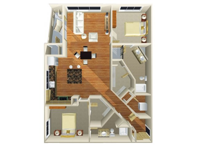 Floor Plan 11 | Dominion Post Oak