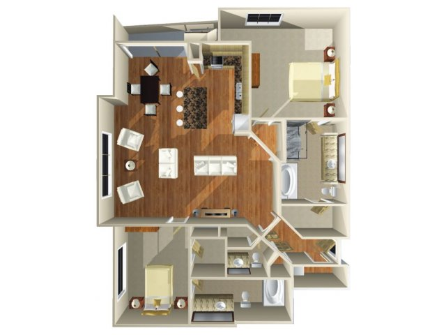 Floor Plan 13 | Dominion Post Oak