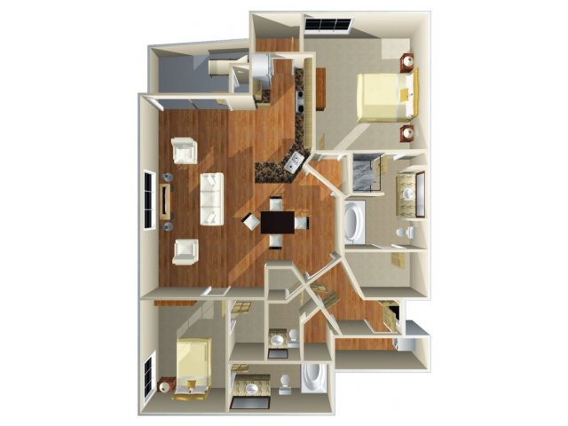 Floor Plan 16 | Dominion Post Oak
