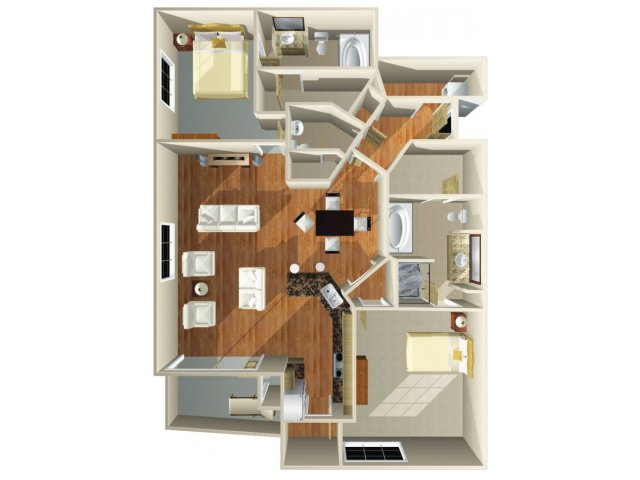 Floor Plan 18 | Dominion Post Oak