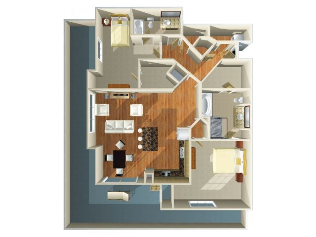 Floor Plan 20 | Dominion Post Oak