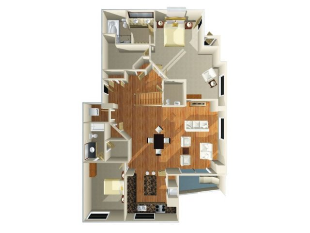 Floor Plan 23 | Dominion Post Oak