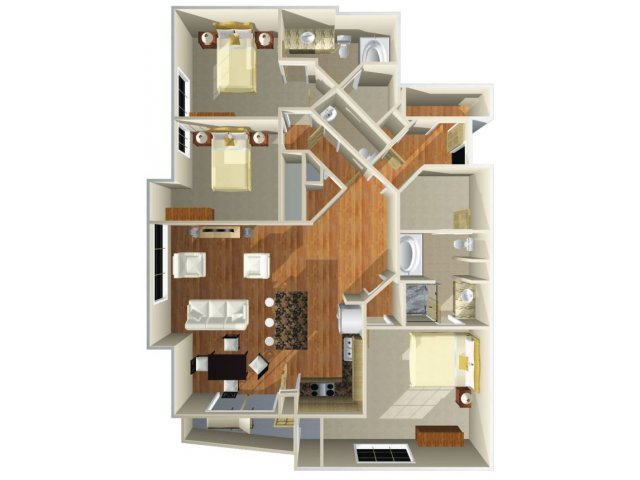 Floor Plan 29 | Dominion Post Oak
