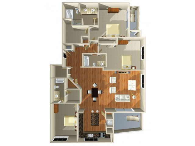 Floor Plan 31 | Dominion Post Oak