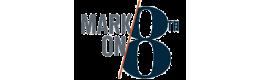 Mark on 8th Logo