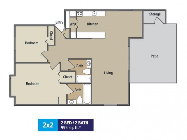 Floor Plan 9 | Treetops