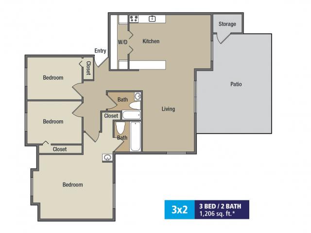 Floor Plan 10 | Treetops