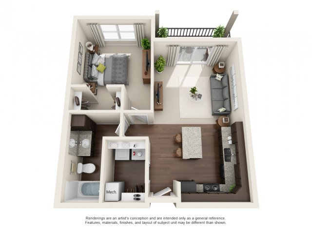 Floor Plan | South Ridge