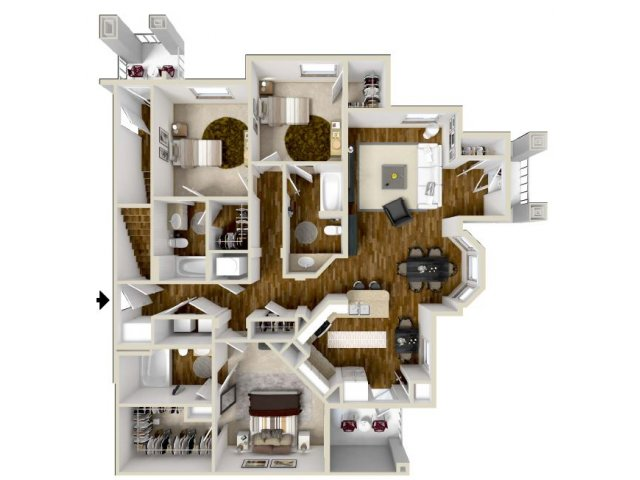 Floor Plan 5 | The Retreat
