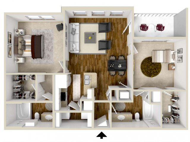 Floor Plan 2 | The Retreat