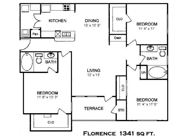 3 Bedroom Apartments in Houston