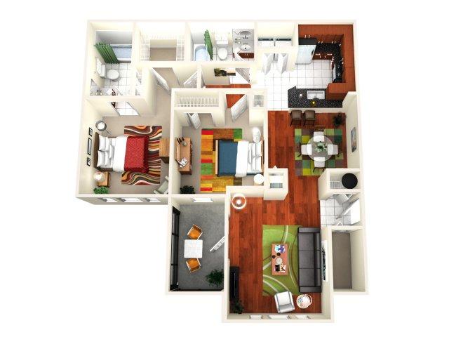 Floor Plan 4 | Avenue Royale