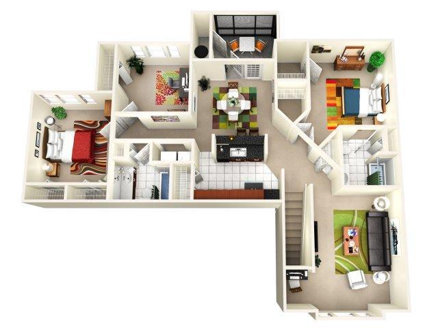 Floor Plan 2 | Avenue Royale 2