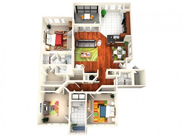 Floor Plan 3 | Avenue Royale 2