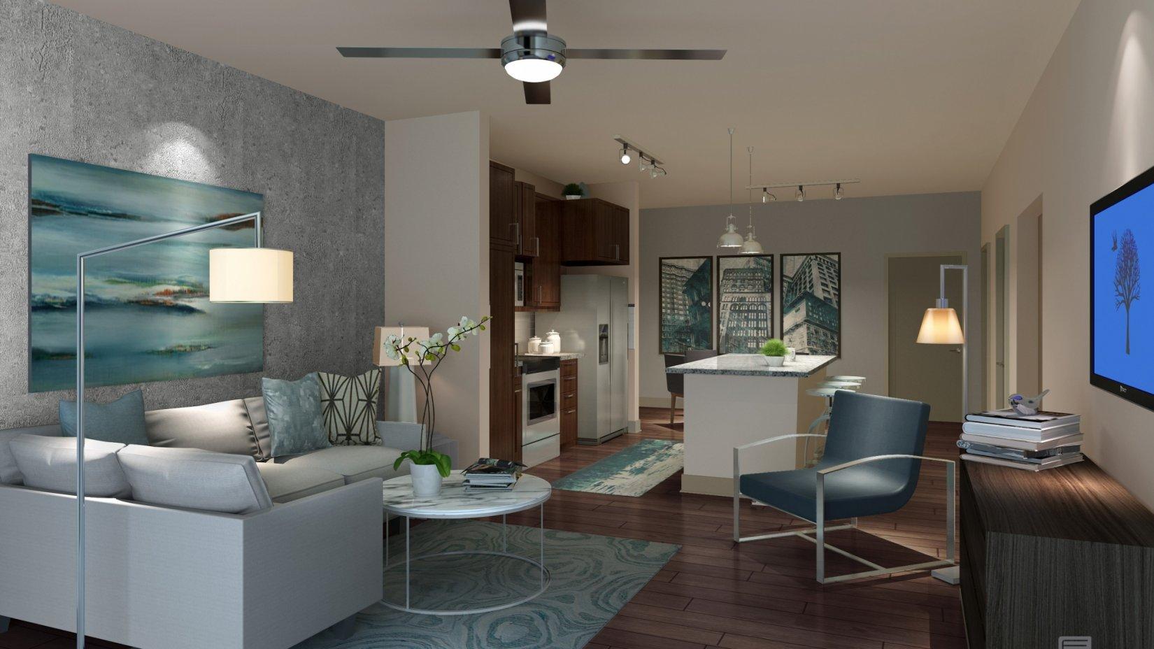 Living Room at Vestavia Reserve