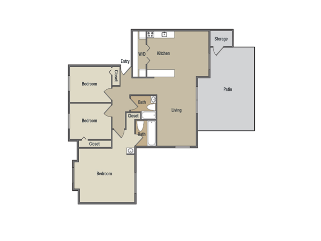 Floor Plan 11 | Treetops