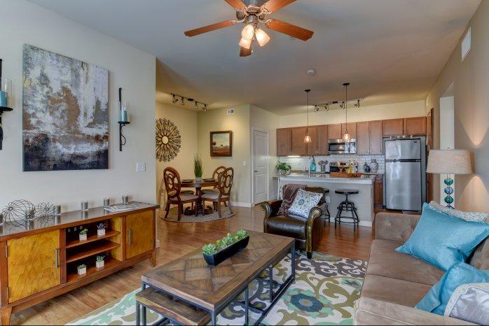 Spacious Living Room | Apartments for Rent in San Antonio TX | Sendera Landmark
