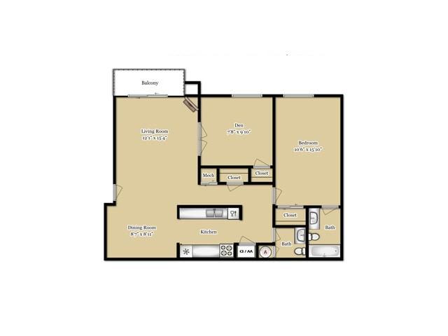 Floor Plan 1 | Southfield