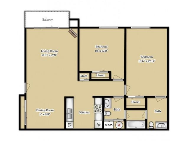 Floor Plan 2 | Southfield