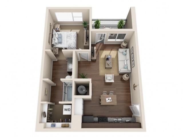 Durango CO Apartments | Floor Plans 1