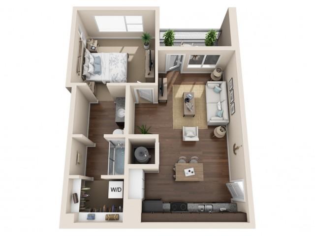 Durango CO Apartments | Floor Plans 3