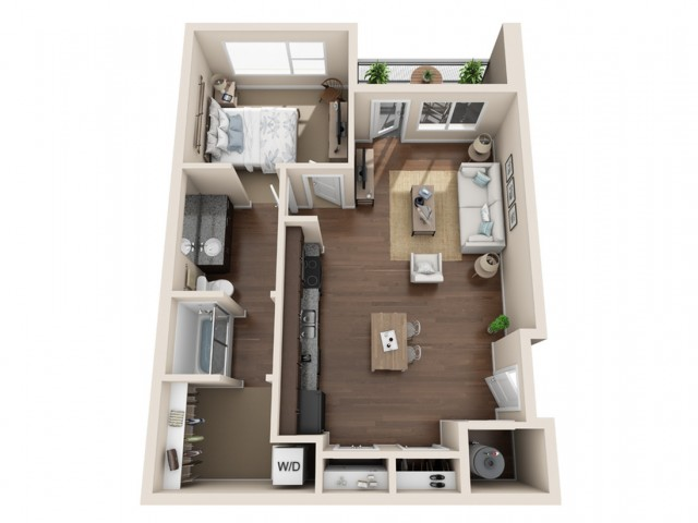 Durango CO Apartments | Floor Plans 4