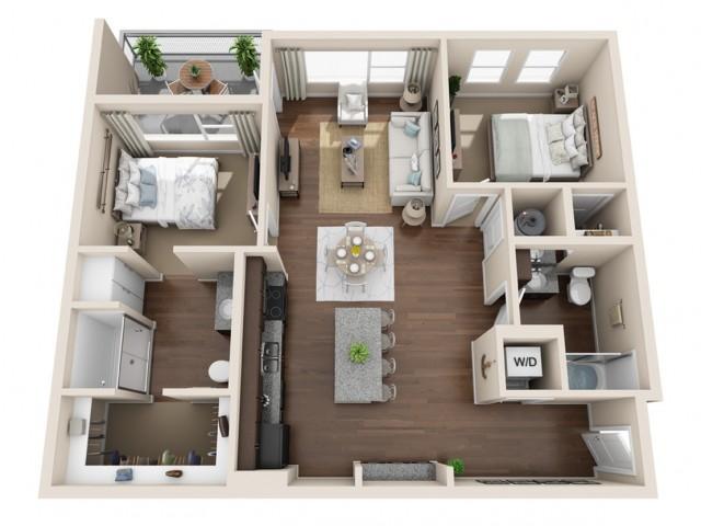 Durango CO Apartments | Floor Plans 8