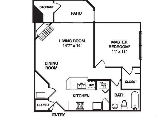 Floor Plan 2 | Waterfield Court