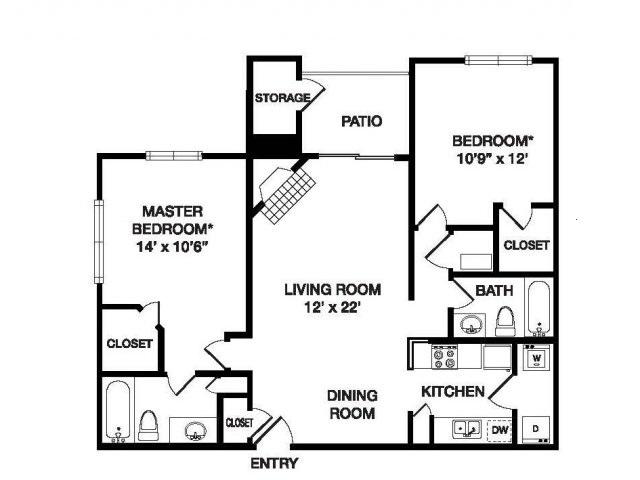 Floor Plan | Waterfield Court