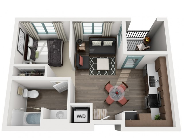 1Floor Plan | Luxe