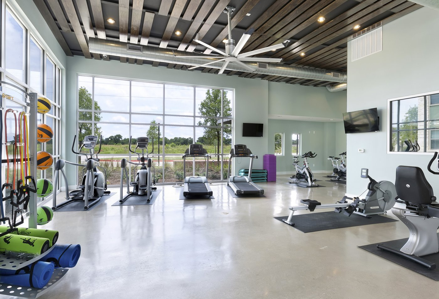 Fitness Center at The Standard at Leander Station