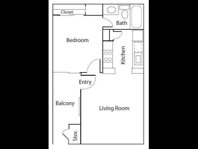 1X1A | Apartments In Thornton | Skyline