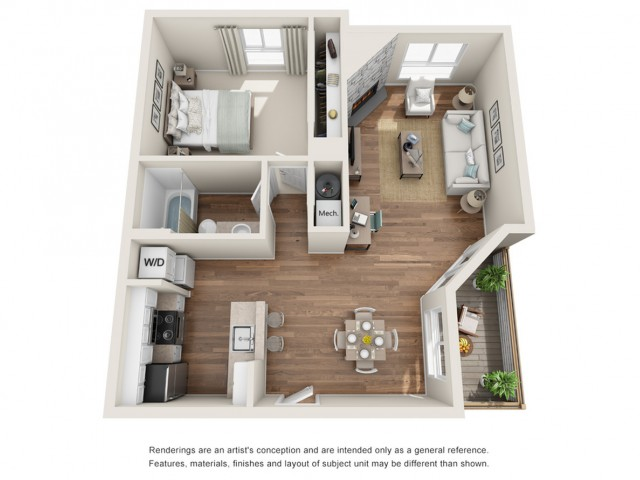 Floor Plan 3 | Sloan\'s Lake