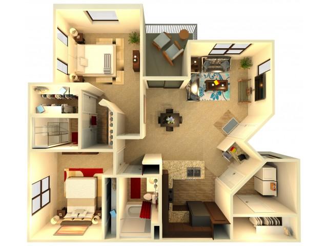 B1   Chandler Apartments   Almeria at Ocotillo 2