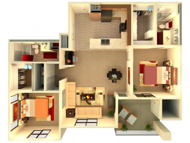 B4   Chandler Apartments   Almeria at Ocotillo 2