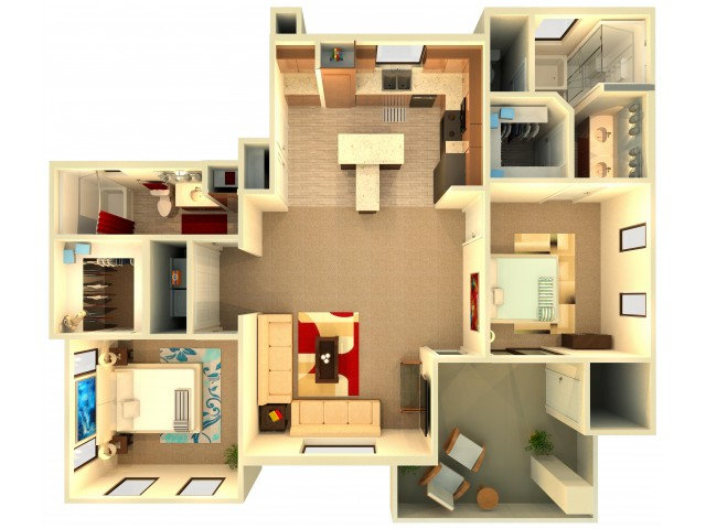 B7   Chandler Apartments   Almeria at Ocotillo 2