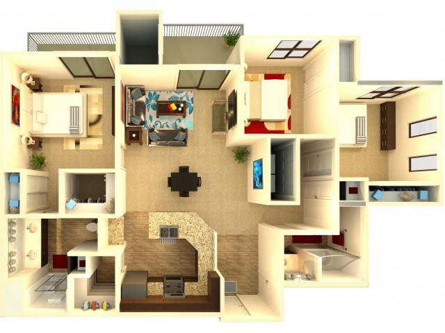 Apartments in chandler almeria at ocotillo - 2 bedroom apartments in chandler az ...