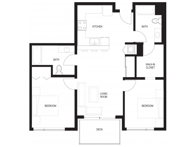 Floor Plan 12 | Renton Apartments For Rent