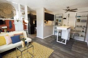 Elegant Living Room | Apartments in OKC| Cambridge Landing