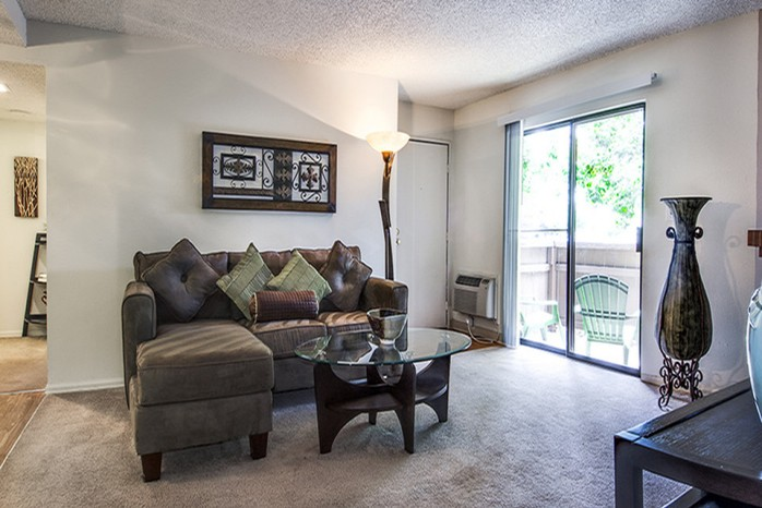 Spacious Living Room | Apt In Denver | Santana Ridge