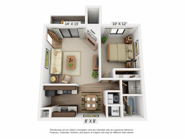 Floor Plan | Santana Ridge
