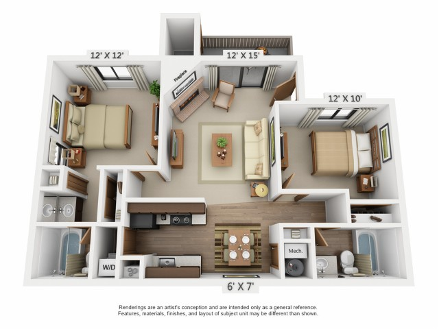 Floor Plan 2 | Santana Ridge