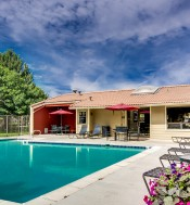 Sparkling Pool | Apartment In Denver | Santana Ridge