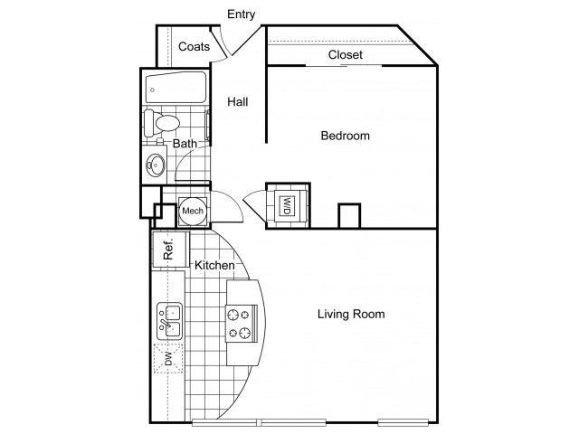 Layout 2 | Apartments In Wichita KS | The Douglas